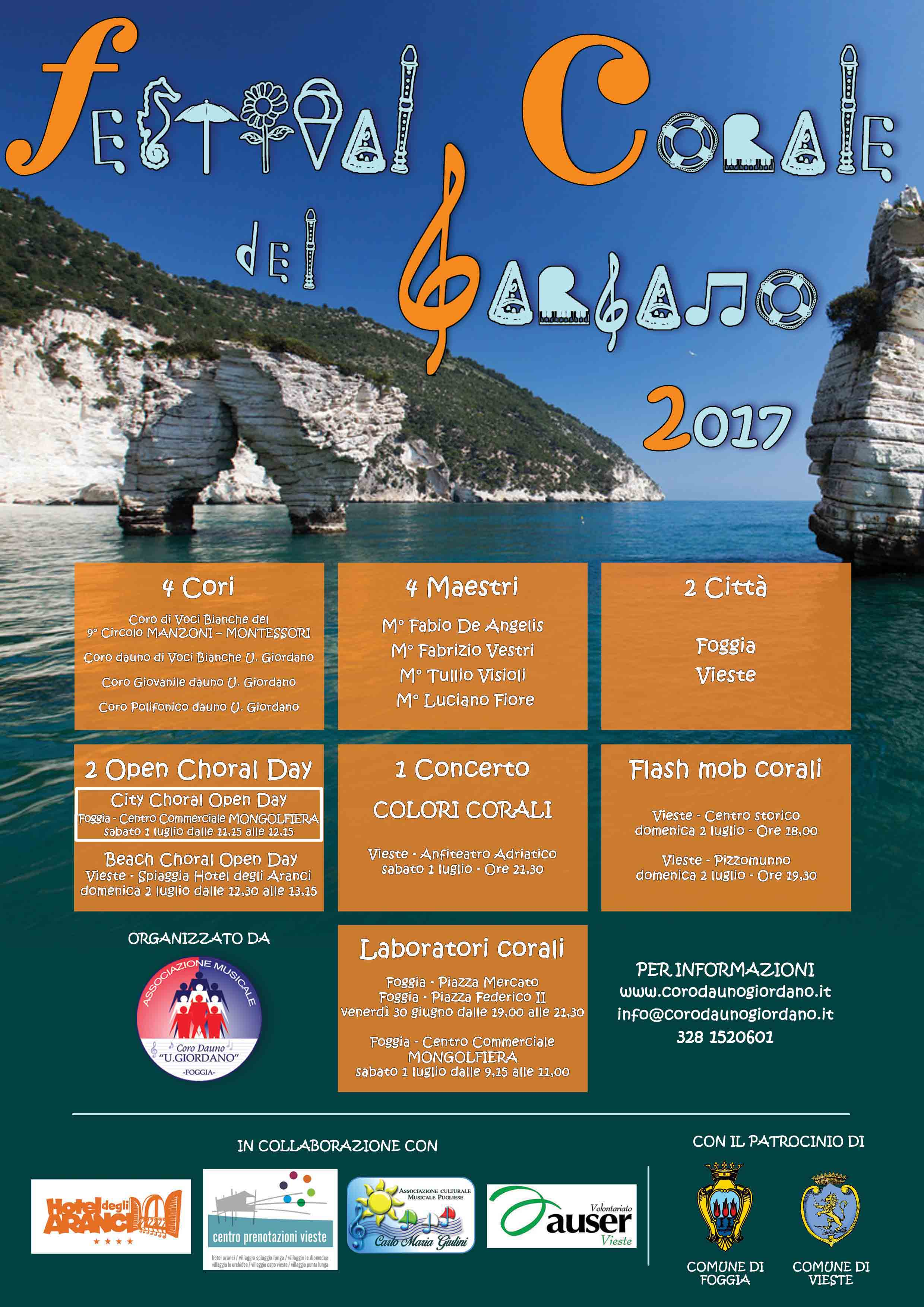 FESTIVAL CORALE DEL GARGANO 2017 - City Choral Open Day Mongolfiera