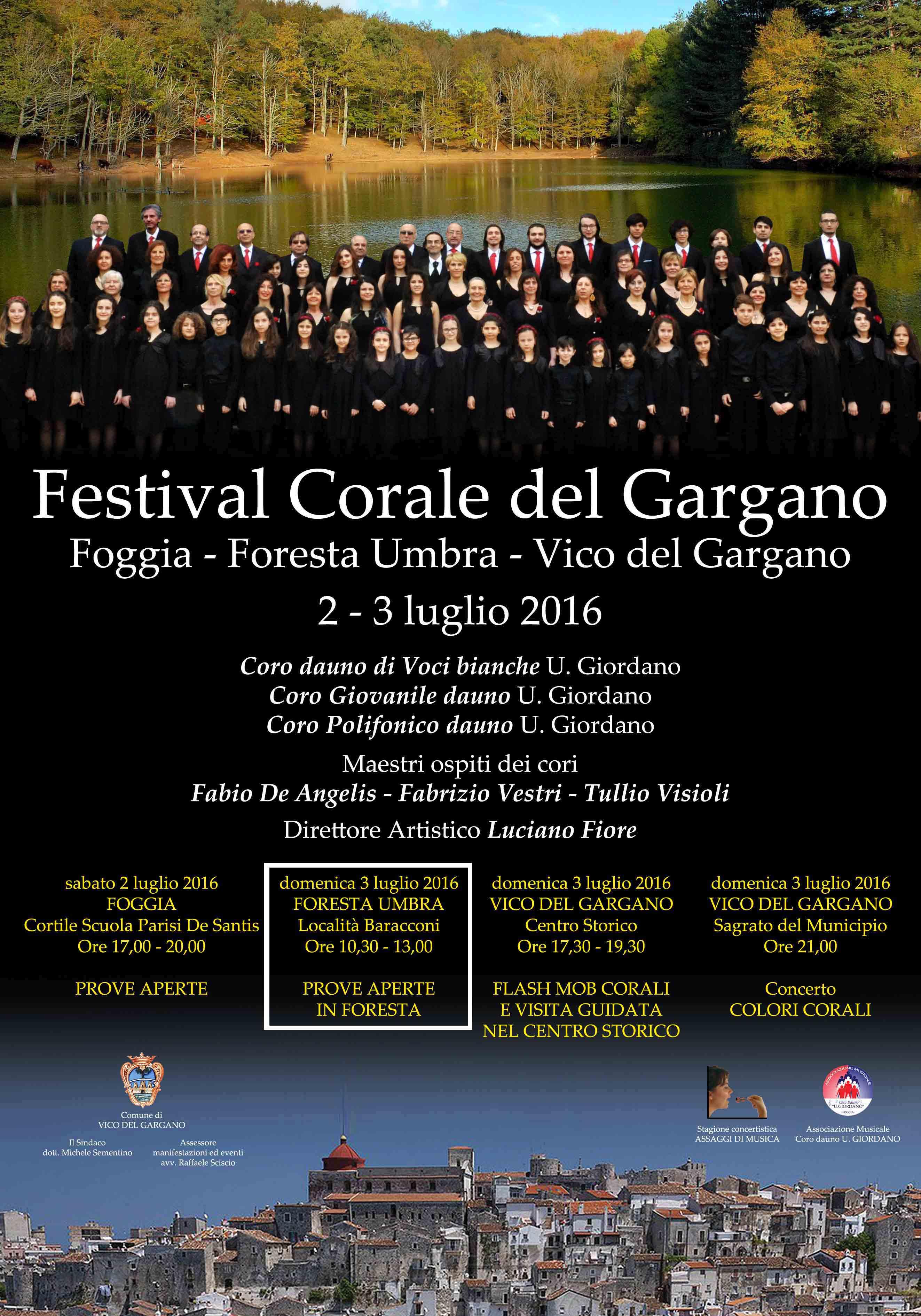 Festival Corale del Gargano 2016 – Prove in foresta
