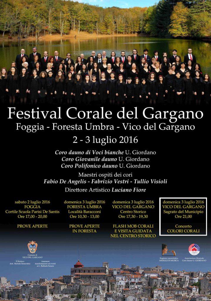 Festival corale del gargano 2016 – Concerto Colori corali