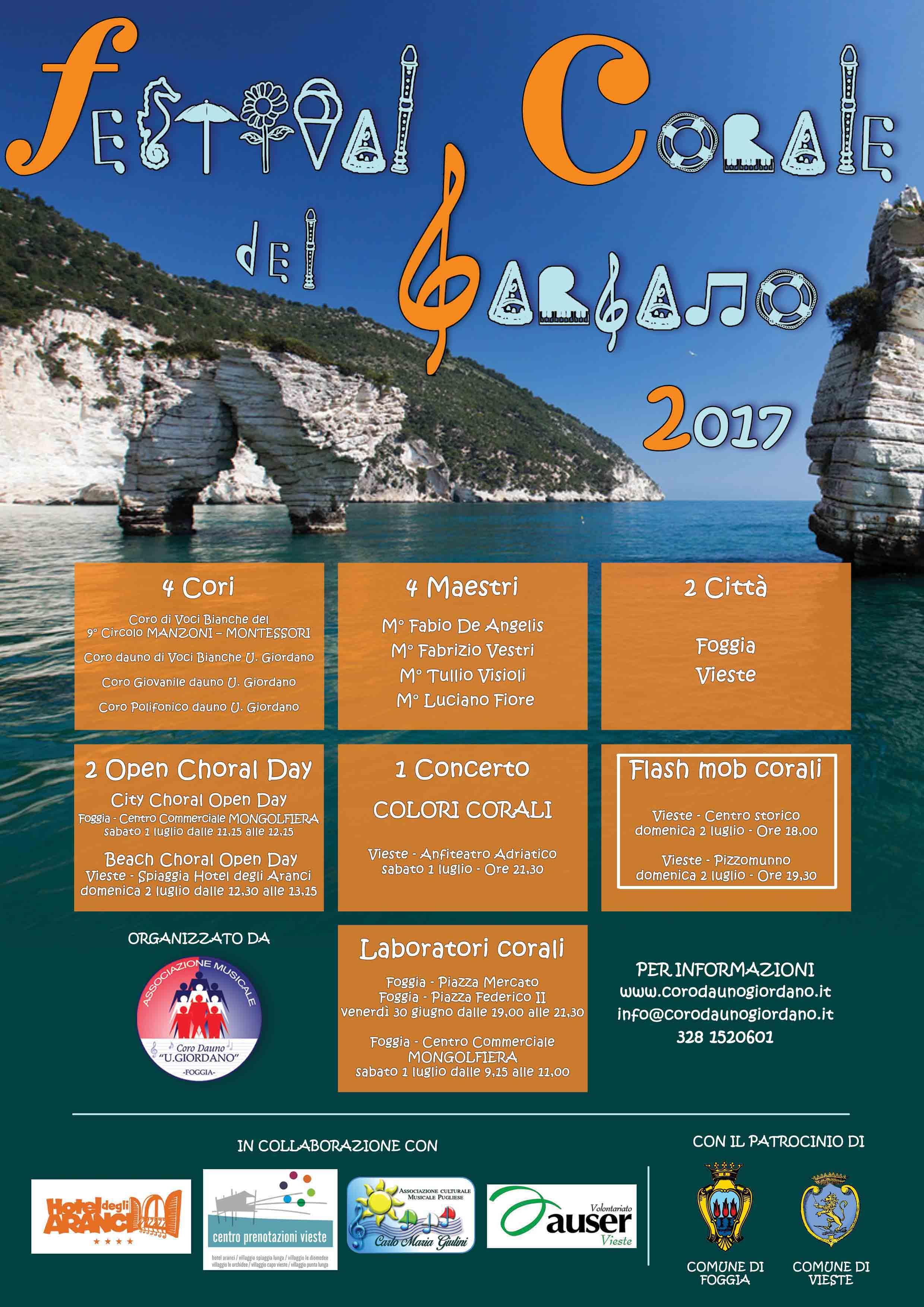 FESTIVAL CORALE DEL GARGANO 2017 - Flash Mob Corali