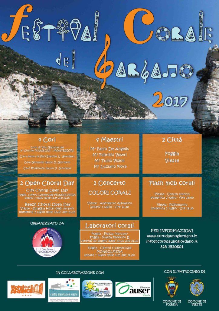 FESTIVAL CORALE DEL GARGANO 2017 - Laboratorio Corale Piazza Mercato