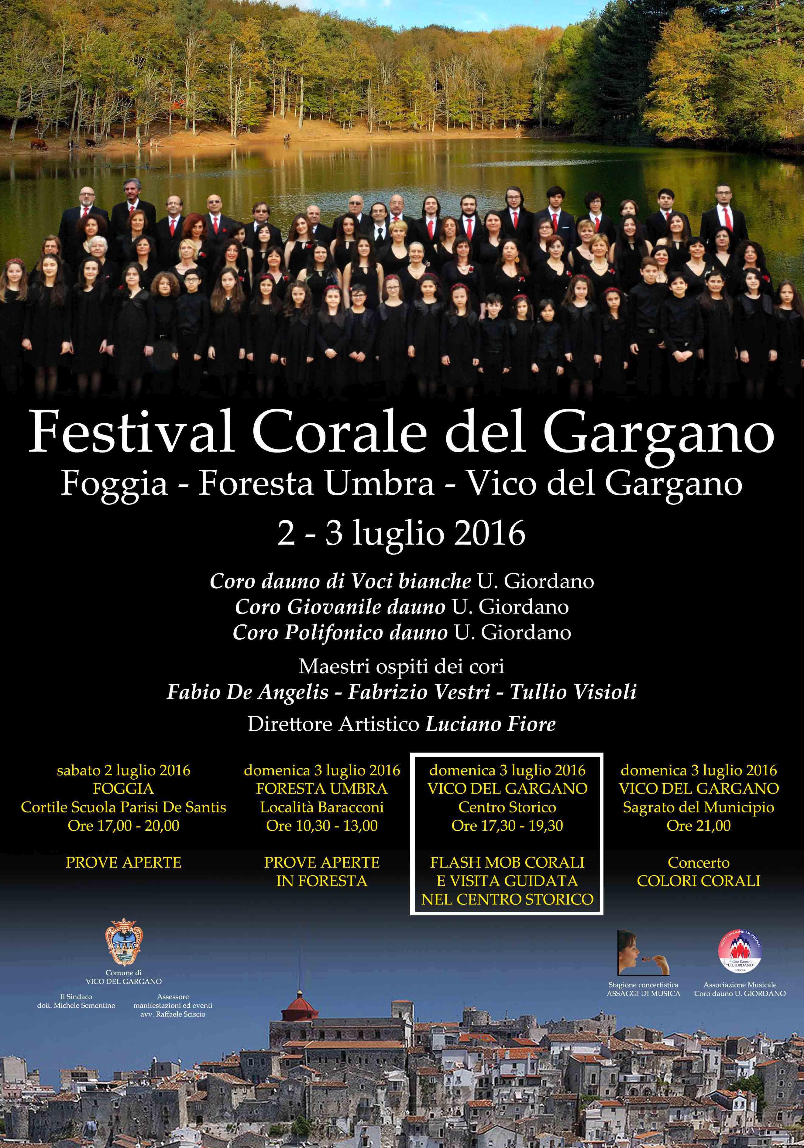 Festival corale del gargano 2016 – Flash mob corali