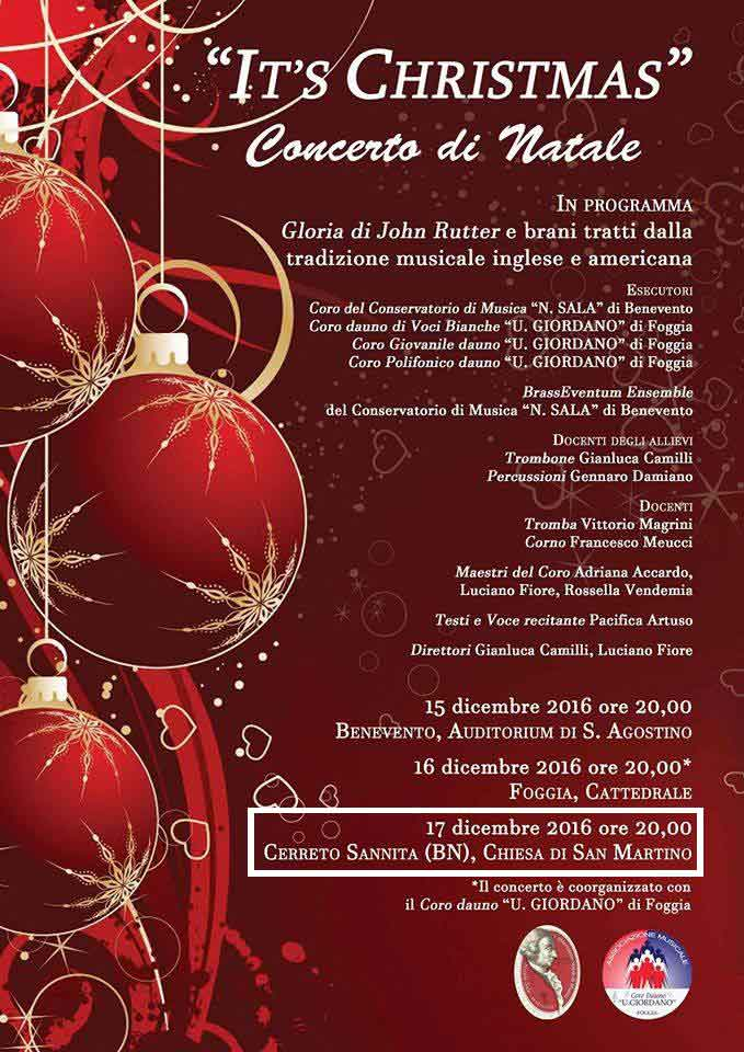 IT'S CHRISTMAS 2016 - 3° Concerto